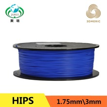 High quality 3D printer supplies HIPS 1.75mm 3.0mm 3D printing supplies for DIY 3D printing Materials Free shipping