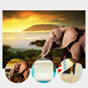 Image 5 - Dusk Grünland Hintergrund Alten Elefanten Natürliche Landschaft Kinder Foto Studio Hintergrund 150x220 cm Fotografie Kulissen Wand