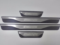 Car Styling for ford escape Accessories 2014 2015 2016 2017 Stainless Steel Door Sill Scuff Plate Pedal Trim guard Car Sticker