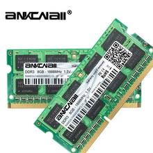 Nova memória 1866 pinos do computador portátil dimm para intel 14900 v ddr3l 4 gb/8g ram 204 mhz pc3l 1.35 s