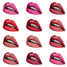 Natural Matte Lipstick Waterproof Makeup Lip Stick Cosmetics Sexy Red Tint Nude Batom