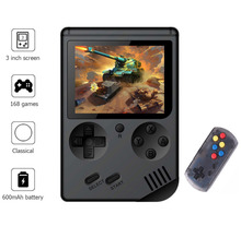Game Console 8 Bit Retro Mini Pocket Handheld Player +Handle Built-in 168 Classic Games Best Gift for Child Nostalgic Player