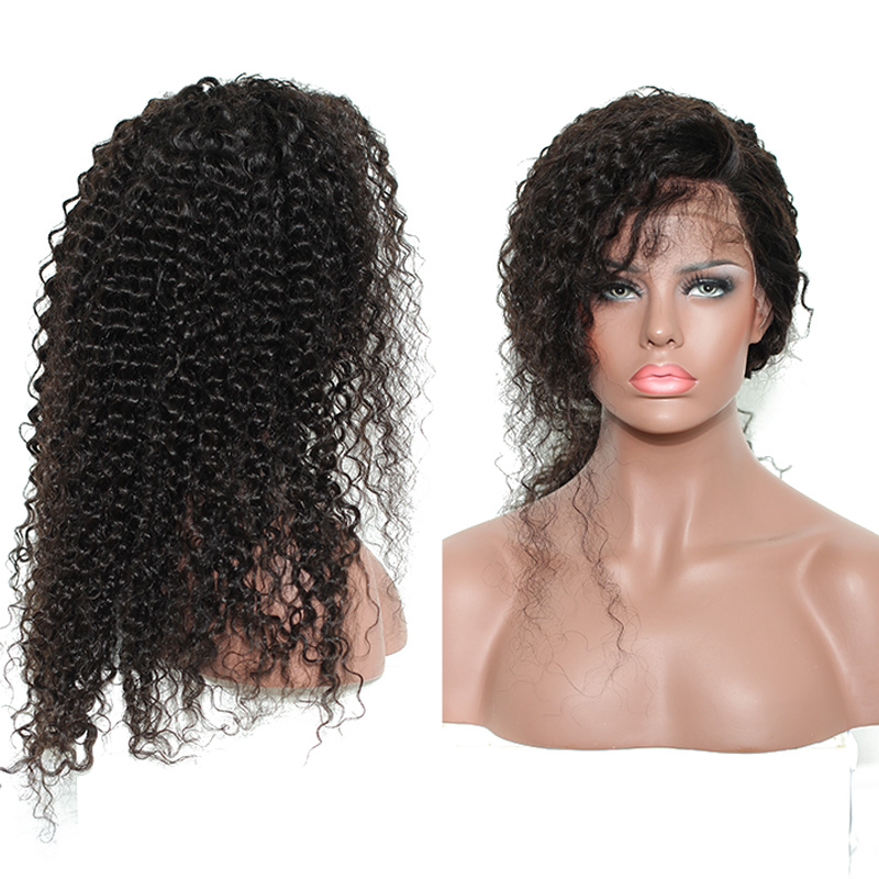 250% Density Deep Curly 13x4 Lace Front Human Hair Wigs For Women Dolago Brazilian Remy Lace Frontal Wigs Pre Plucked Black