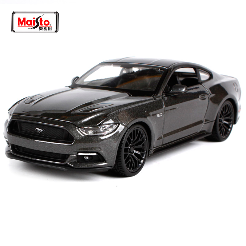 Maisto 1:24 2015 Ford Mustang GT 5.0 Classic Modern Muscle Diecast Model Car Toy New In Box უფასო გადაზიდვა 31508