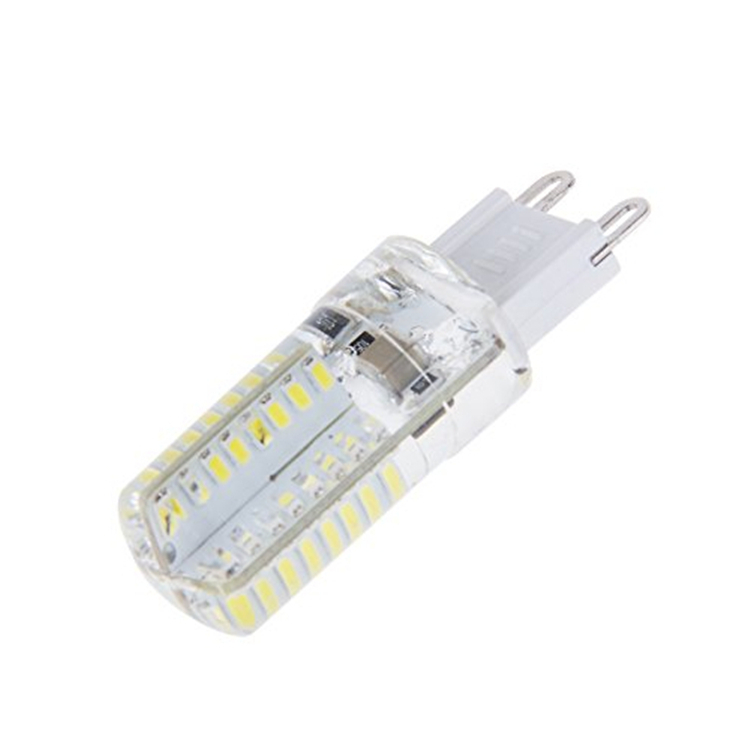 Silicone G9 64 LEDs 3014 SMD 5Watt LED Cool White Corn Light Lmap-in ...