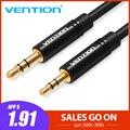 Cable auxiliar Vention de 2,5mm a 3,5mm cable de Audio Jack de 3,5 a 2,5 macho Cable auxiliar para SmartPhone de coche altavoz para teléfono móvil