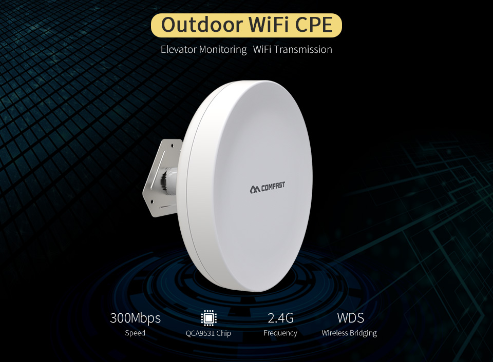 3KM Long Distance CPE WIFI Router Wireless Outdoor AP Router WIFI Repeater WIFI Extender Access Point AP Bridge Client Router