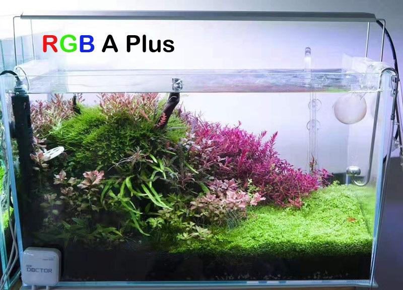 2019 Chihiros Bluetooth RGB Plus series Plant grow LED light sunrise sunset timer aquarium water plant fish tank WRGB similar