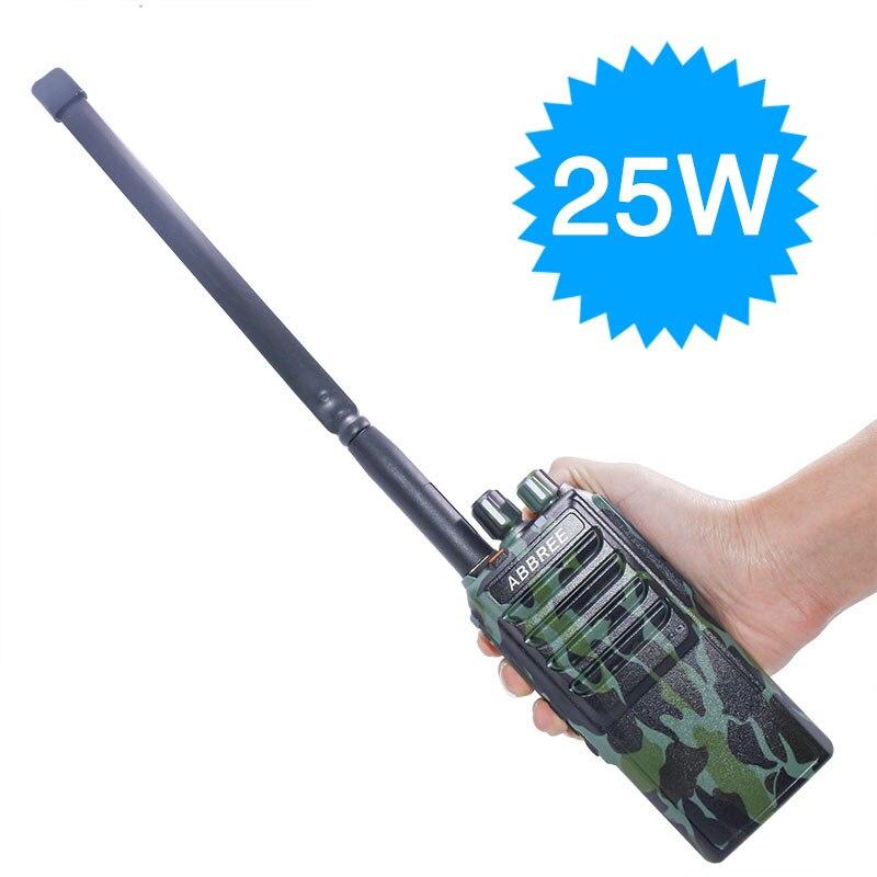 Abbree AR 25W 25Watts Powerful walkie talkie UHF 400 480MHz 10W 10 20Km Long Range Two