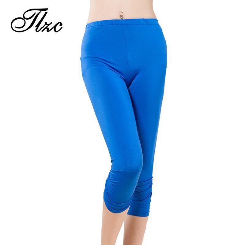 TLZC Korean Women Elastic Pencil Pants Plus Size L 4XL 2017 New Arrival Lady Skinny Leggings