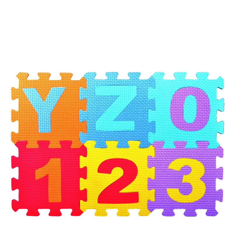 HTB1M4nCOr2pK1RjSZFsq6yNlXXaL 36pcs/Set EVA Baby Foam Clawling Mats Puzzle Toys For Kids Floor Play Mat Educational Number Letter Childrens Carpet 15.5*15.5cm