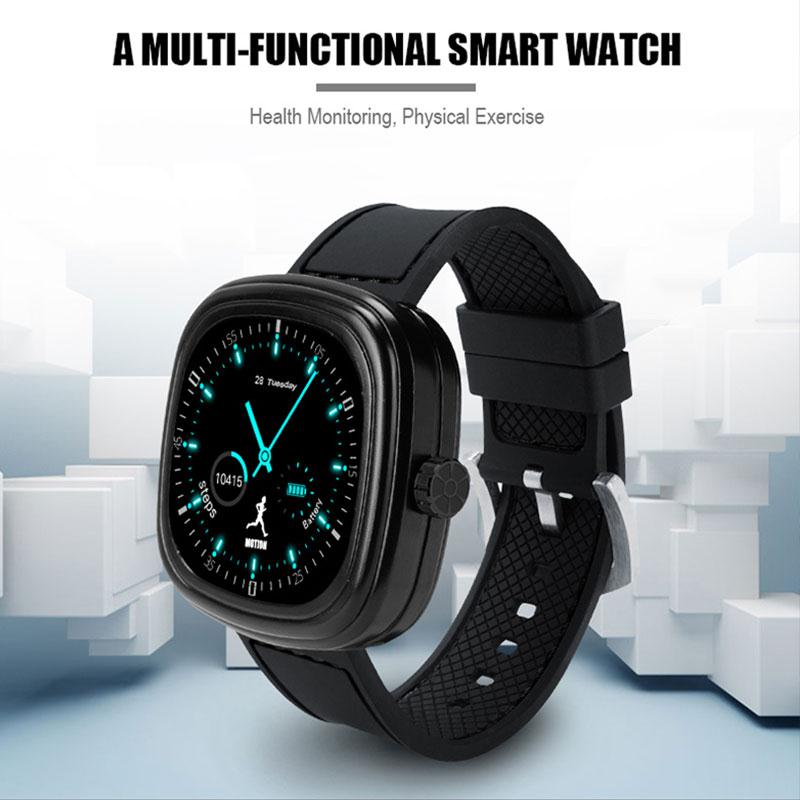 1.1 Inch Smart Watch Men Anti-lost Health Fitness Tracker Pedometer for iOS Android Relogio Masculino Erkek Kol Saati Horloge