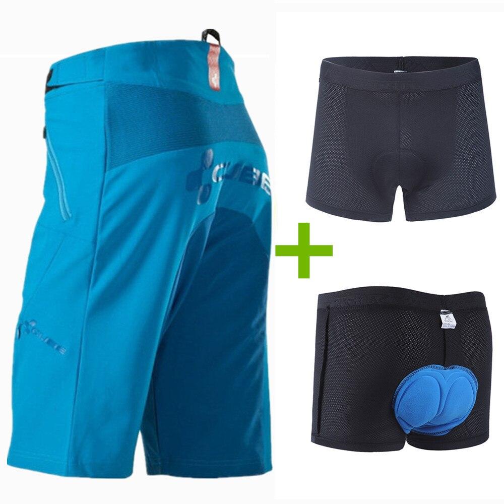 все цены на SAENSHING Cube Shorts Men Mtb Downhill Bike Shorts 3D Padded Underwear Bicycle Cycling Short Men Cube Short Ciclismo Hombre онлайн