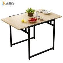 Обеденный стол, деревянный ДСП, модный, для гостиной, складной стол, квадратный, для кухни, стол для 6 человек, мебель для столовой