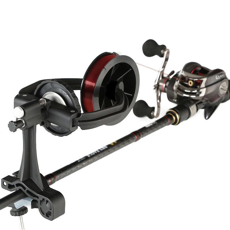 2019 New Portable Fishing Line Spooler Winder <font><b>Reel</b></font> Spool Spooling Station System for Spinning or Baitcasting Fishing <font><b>Reel</b></font> Line image