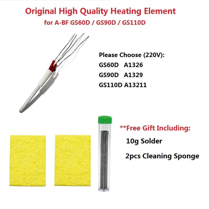 Original A-BF GS60D GS90D GS110D 90W Soldering Iron Heating Element Heater also for CXG DS60T DS90T DS110T soldering iron heater