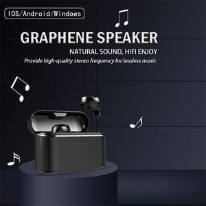 Image 5 - OUKK TWS X20 Plus 3000mAH Charging Case Wireless Headphone Bluetooth 5.0 Waterproof IPX5 Deep Bass Earphone Bluetooth Earbuds