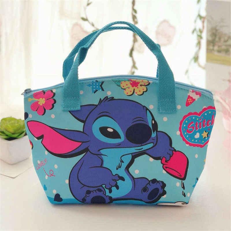 Disney neue kinder cartoon tsum tsum mickey isolierung mittagessen tasche Stich nette lunch box tasche grill handtasche Outdoor tote tasche