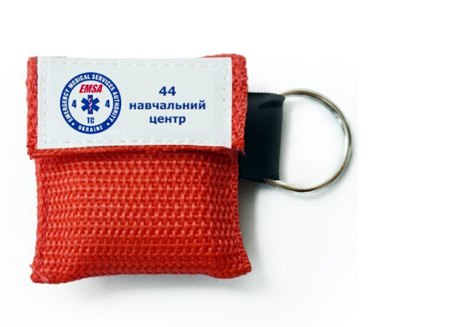 1000 Pcs Customized CPR Face Shields With Keying Chian For First Aid Training