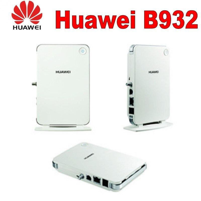 Huawei B932 3G fwt/fixe sans fil terminal/3g routeur Sans Fil avec fente pour carte sim 850/ 900/1800/1900/2100 MHz