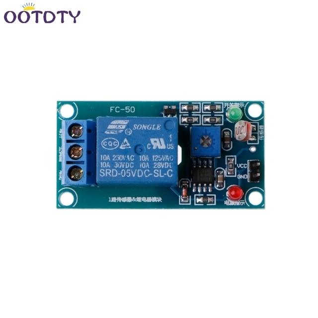 5V Photoswitch Light Sensor Switch LDR Photoresistor Relay Module ...