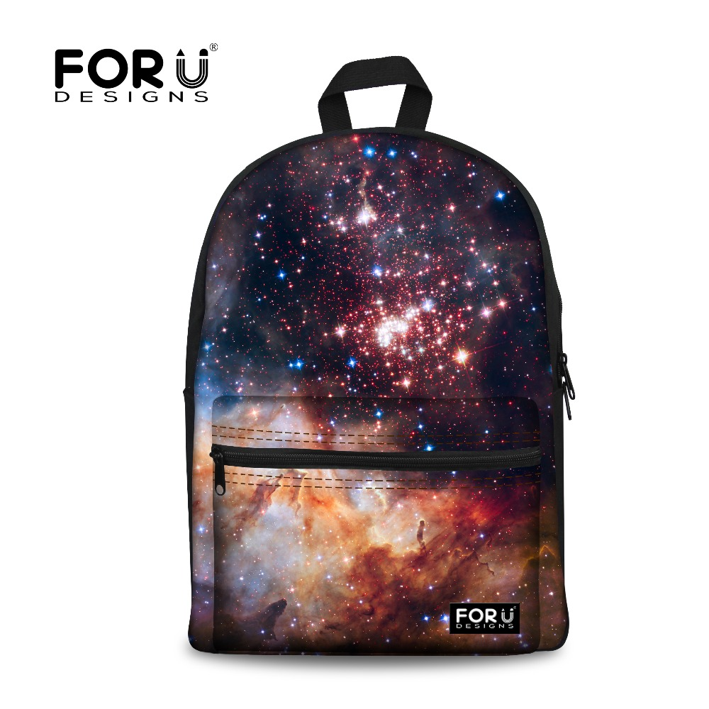 Unique School Bag for Teenage Girls Tide Children Galaxy Star Universe Space School Bags High Kids Schoolbag Women Book Bag