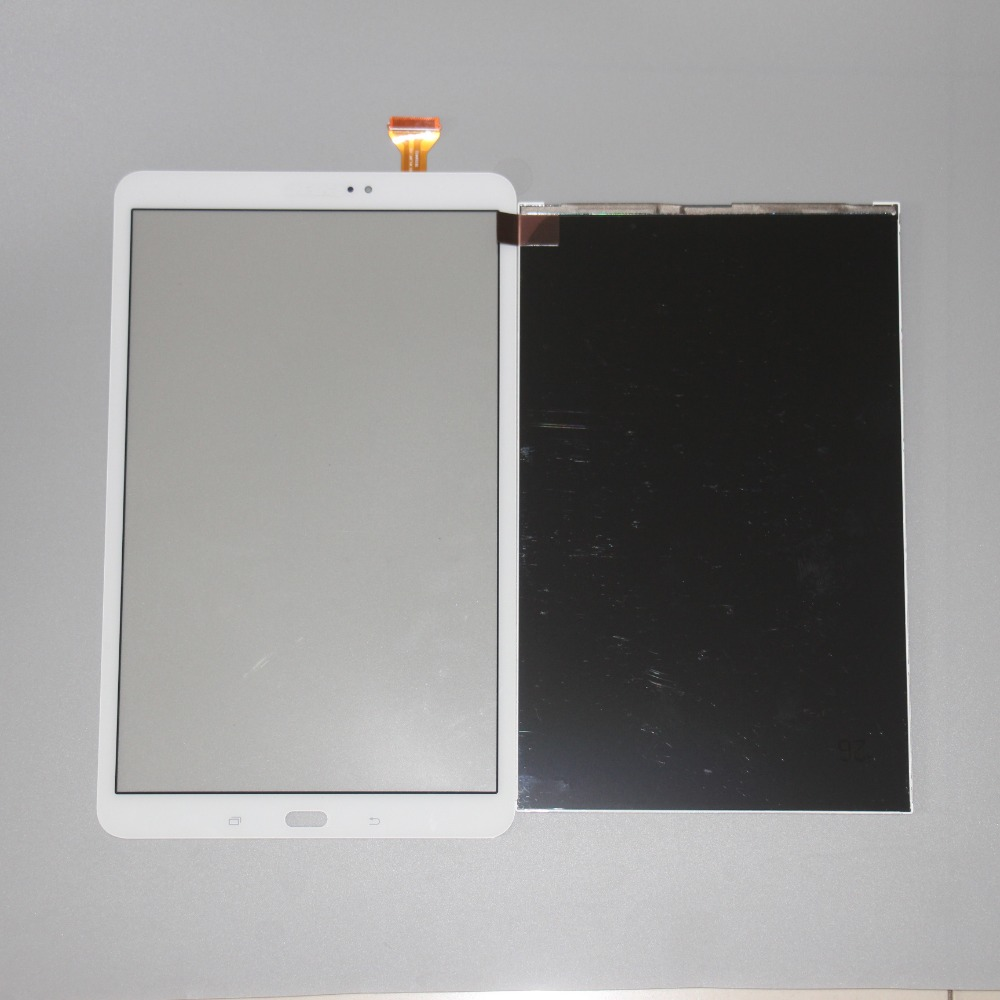 Touch Screen Digitizer Sensor Glass+LCD Display For Samsung Galaxy Tab A 10.1 T580 T585 SM-T580 SM-T585 Panel Parts WhiteTouch Screen Digitizer Sensor Glass+LCD Display For Samsung Galaxy Tab A 10.1 T580 T585 SM-T580 SM-T585 Panel Parts White
