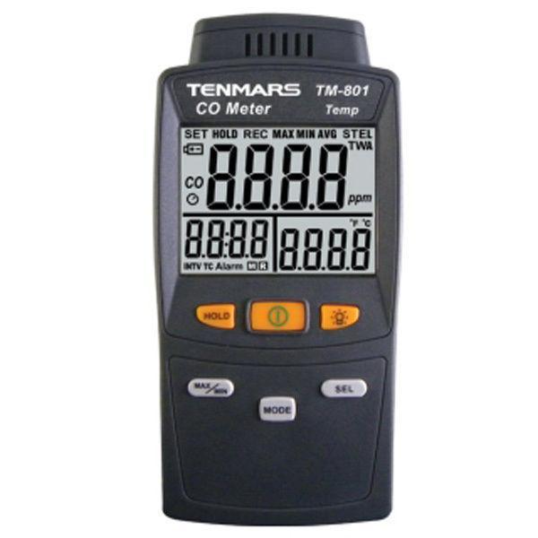 CO Carbon Monoxide Detector Tester Precision Gas Analyzer Tester TM801