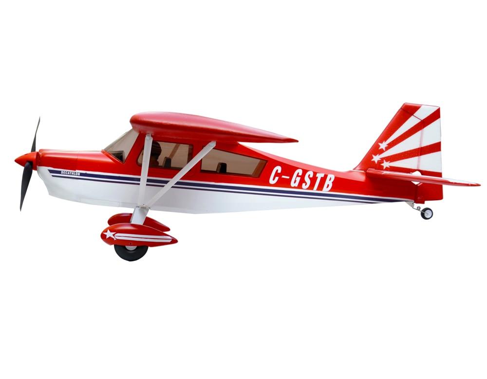 Volantex Super Decathlon RC KIT Plane Model W/O Motor Servo 40A ESC Battery volantex super decathlon rc rtf plane model w brushless motor servo esc battery