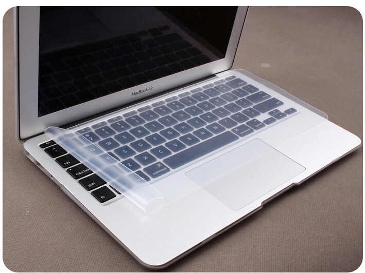 Tahan Air Keyboard Laptop Film Pelindung 15 Laptop Keyboard Cover 15.6 17 14 Notebook Keyboard Penutup Film Silikon