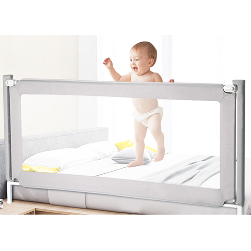 Lit de clôture bébé incassable garde-corps lit de clôture 1.8-2 mètres enfants anti-chute chevet déflecteur coton lit