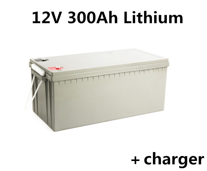 Rechargeable 12v 300ah Lithium Li Ion Battery Pack For