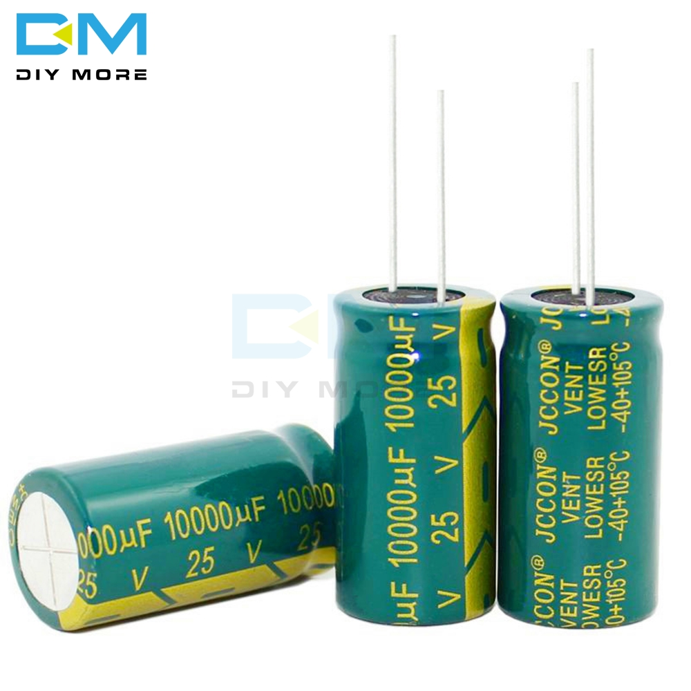 20PCS 6.3V 10V 16V 25V 35V 63V 100V 250v 400V 100UF 220UF 330UF 470UF 680UF 1000UF 1500UF 2200UF 3300uf Electrolytic Capacitors image