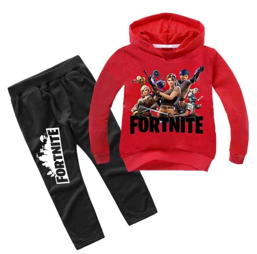 b2c5c7606af27 Крутая модная шт. детская одежда для мальчиков и девочек, комплект из 2  предметов,
