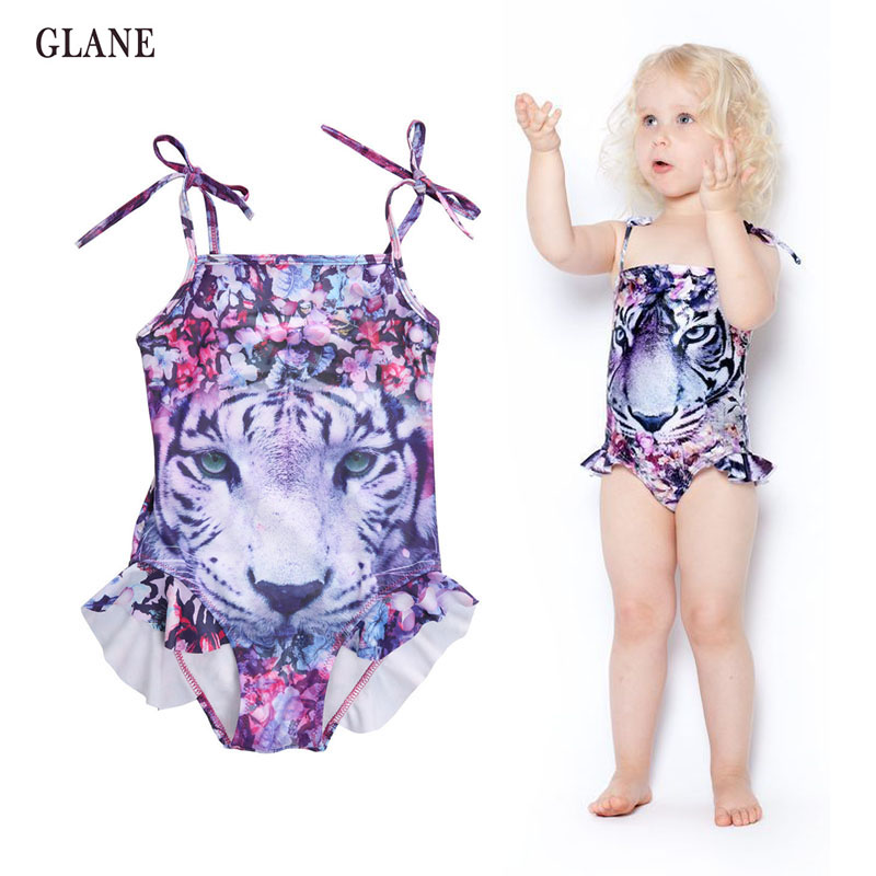 dbdb4e168d694 Detail Feedback Questions about 3 10T Girls Swimwear Mermaid Princess One  Pieces Swimsuit Kids Siberian Tiger Swimming Suit For Girl Children Bathing  Suit ...