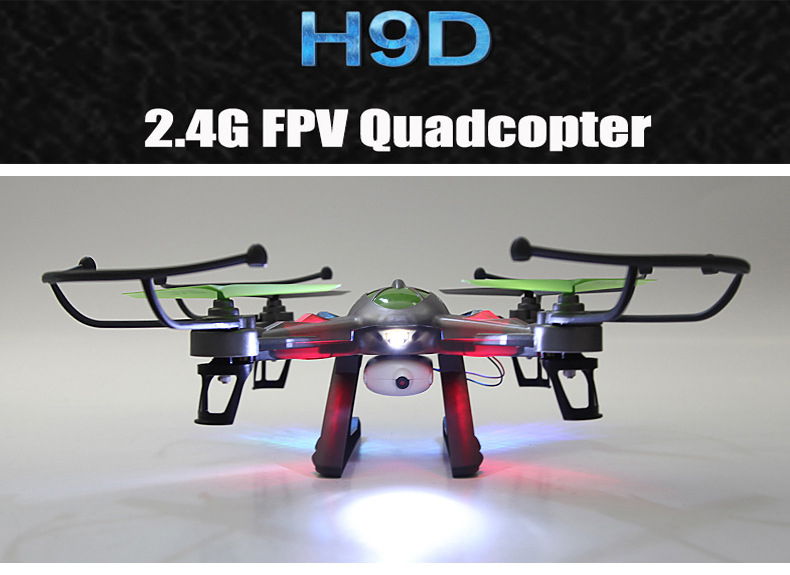 FPV JJRC H9D 2.4G 4CH 6-Axis RC Quadcopter RTF Digital Transmission Quadcopter with 0.3MP Camera VS CX-30 X5C Drone