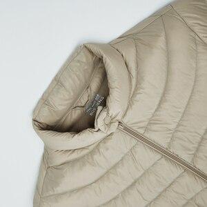 Image 5 - BOSIDENG جديد خريف 90% بطة أسفل سترة الرجال أسفل معطف المحمولة خفيفة للغاية مقاوم للماء جودة عالية B90131013