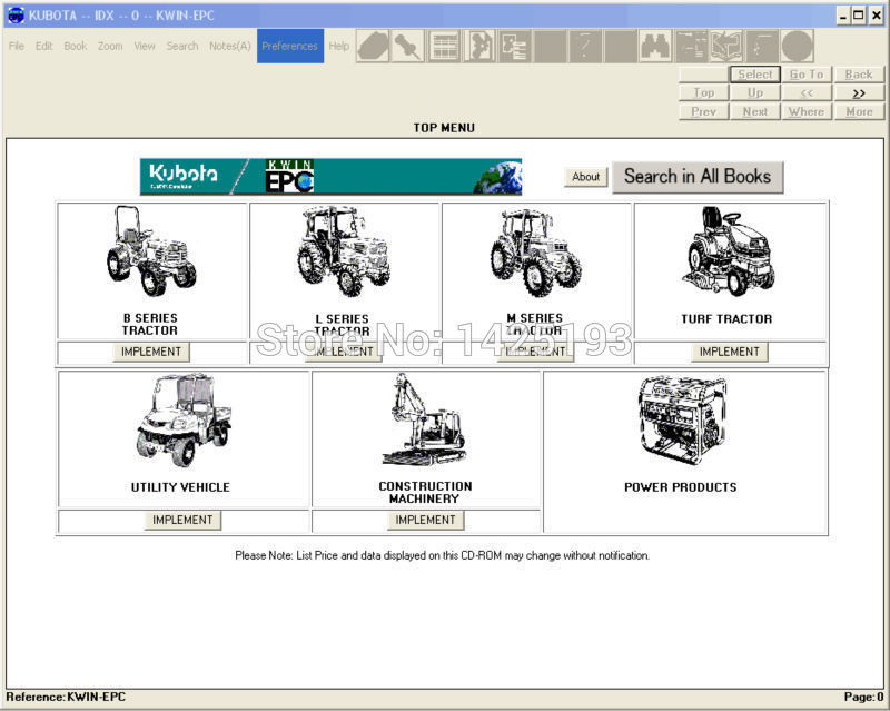 Excellent Kubota Pare Parts Catalog 2006 In Software From Automobiles Wiring Database Gramgelartorg