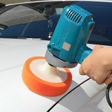 """3 5 Pcs 6 """"M14 M16 Wasstraat Schoon Detail Polijsten Spons Polijsten Waxen Oranje Pad Wiel Kit auto Polijstmachine Accessoires Paint Care"""
