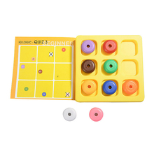 N153 Free shipping 2017 New Children early education puzzle toys nine color game children logical thinking exercise table games