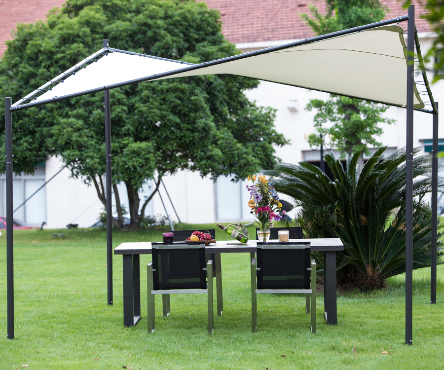 Steel/ Polyester Fabric Butterfly Sun Shade Marquee Outdoor Event Canopy Gazebo-in Awnings from Home u0026 Garden on Aliexpress.com | Alibaba Group & Steel/ Polyester Fabric Butterfly Sun Shade Marquee Outdoor Event ...