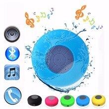 Mini Portable Speaker BTS06 Bluetooth Water Resistant Bathroom Shower Speaker Handfree call Outdoor Wrieless Bluetooth Speaker
