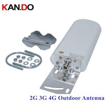Datos de fábrica 20dbi 697-2700 MHz al aire libre 2G 3G 4g antena para repetir para booster router antena repetidor 4G LTE módem antena