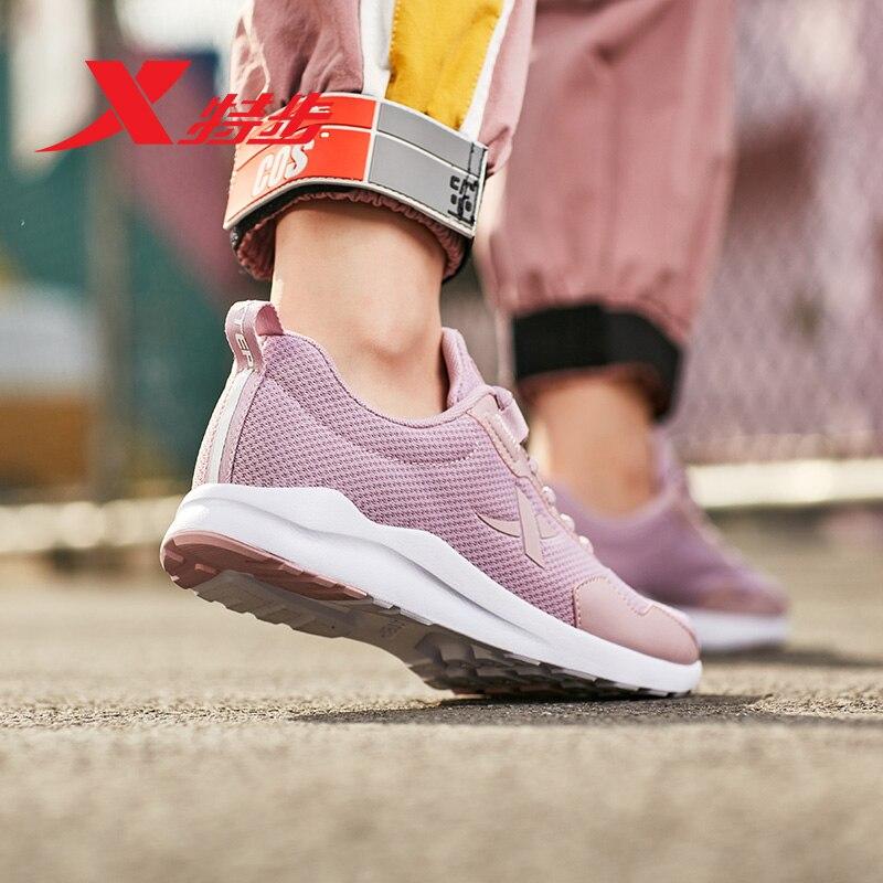 881218329125 Xtep women leisure shoe summer air mesh breatheble sport women sneakers walking shoe in Walking Shoes from Sports Entertainment