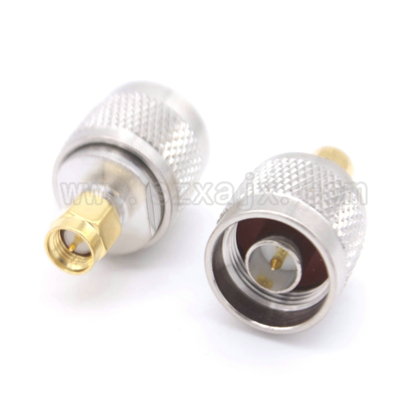 RF coaxial coax N to SMA connector N male to SMA male Plug adapter free shipping free shipping l16 n type male to male adapter connector n type male connector n jj rf coaxial adapter connector 10pcs lot