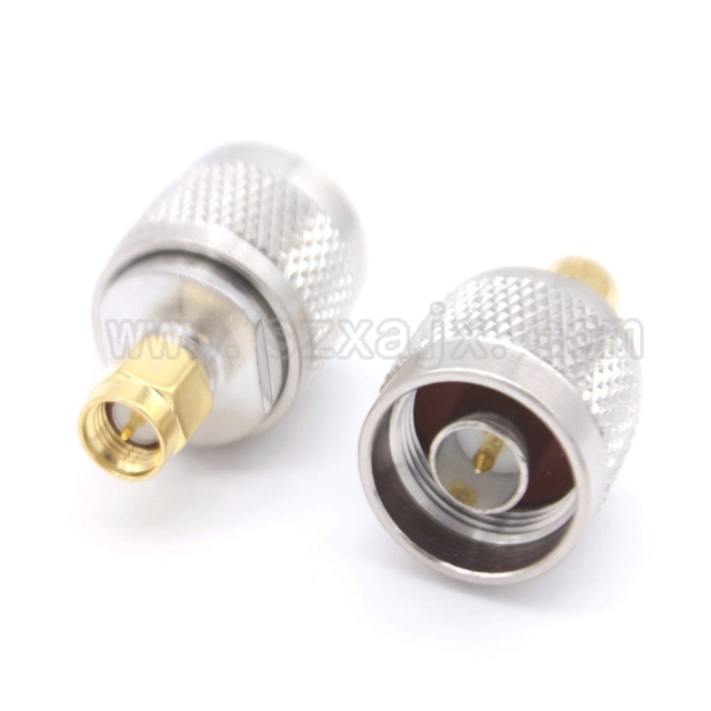 RF coaxial coax N to SMA connector N male to SMA male Plug adapter free shipping