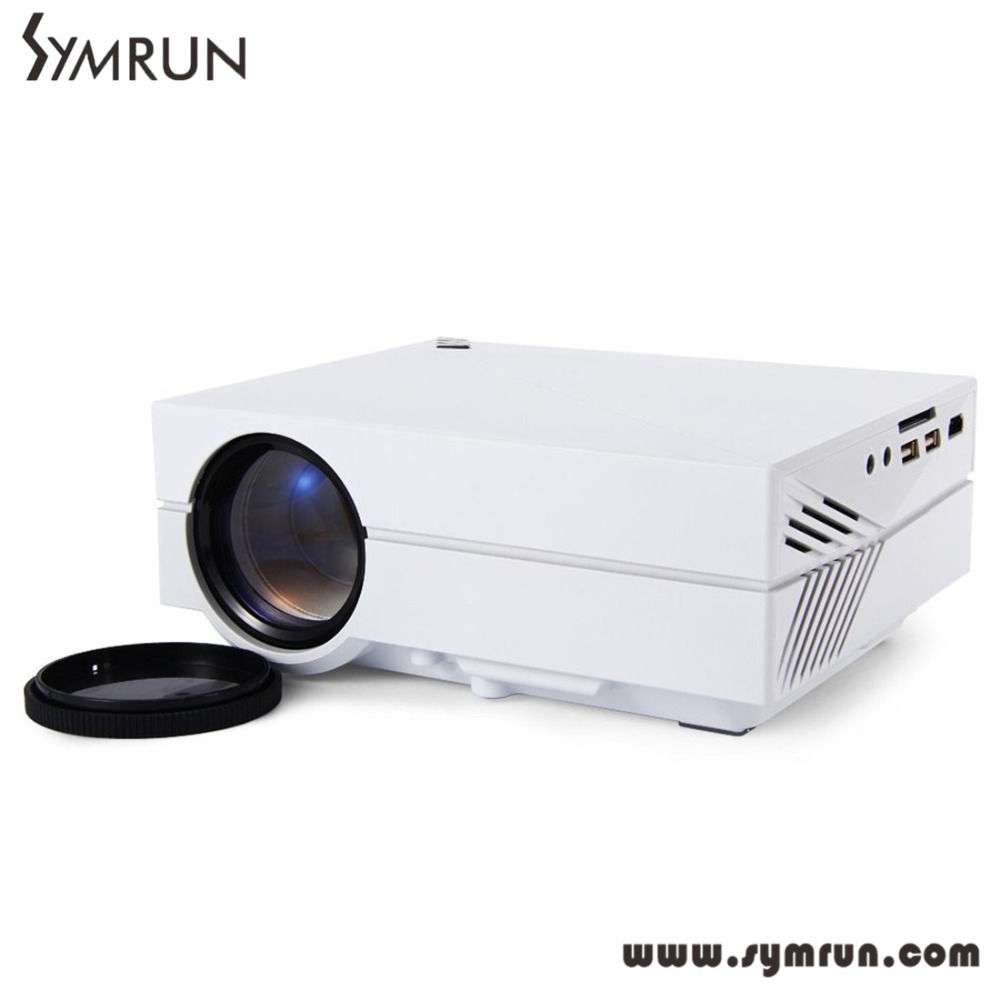 Symrun rd802 portable mini projector home theater 480 320p for Pocket projector hdmi input