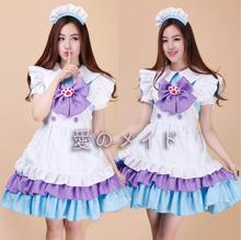 Alice in the wonderland cosplay costumes alice maid costume lolita Maid dress for Fancy Halloween Party