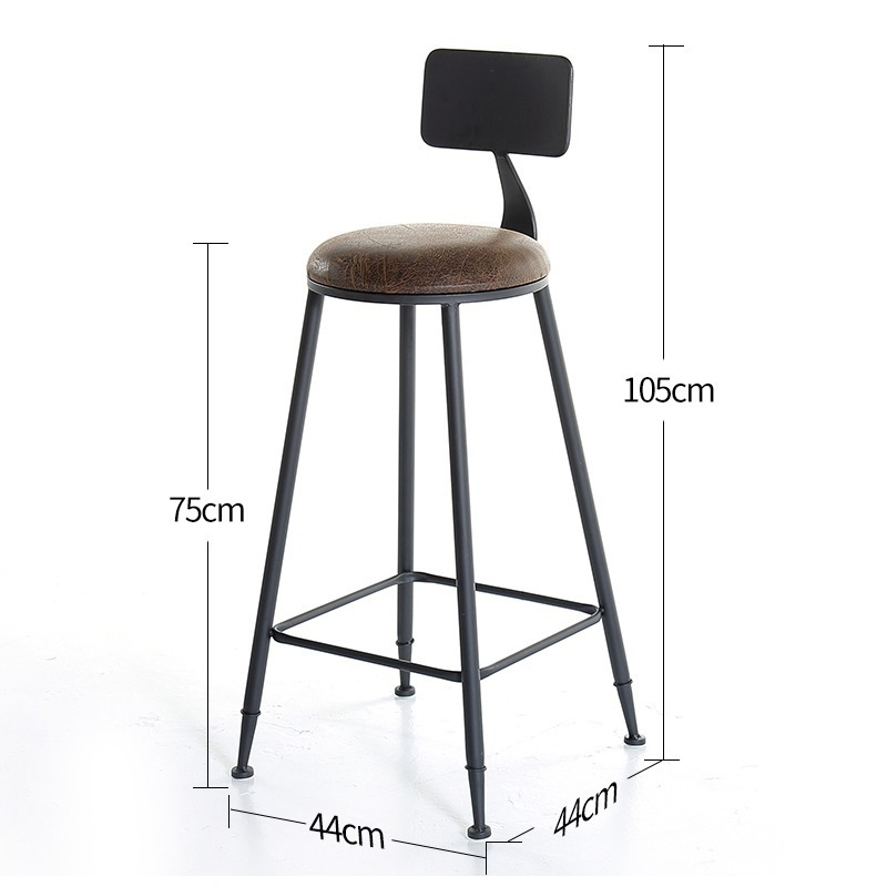 Image 3 - Taburete Fauteuil Sandalyesi Hokery Sedia Banqueta Todos Tipos Shabby Chic Tabouret De Moderne Stool Modern Silla Bar Chair-in Bar Chairs from Furniture