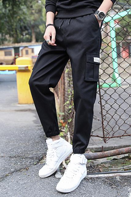 Joggers Harajuku Sweatpants Male Hip Hop Trousers